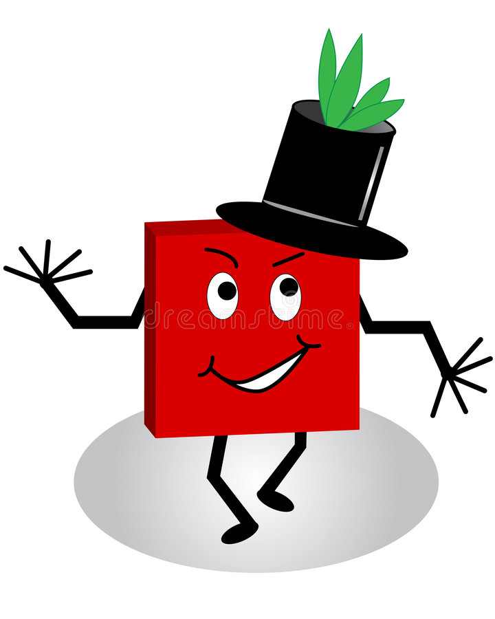 Download Cartoon Character With Tophat Royalty Free Stock Photo - Image: 8011975