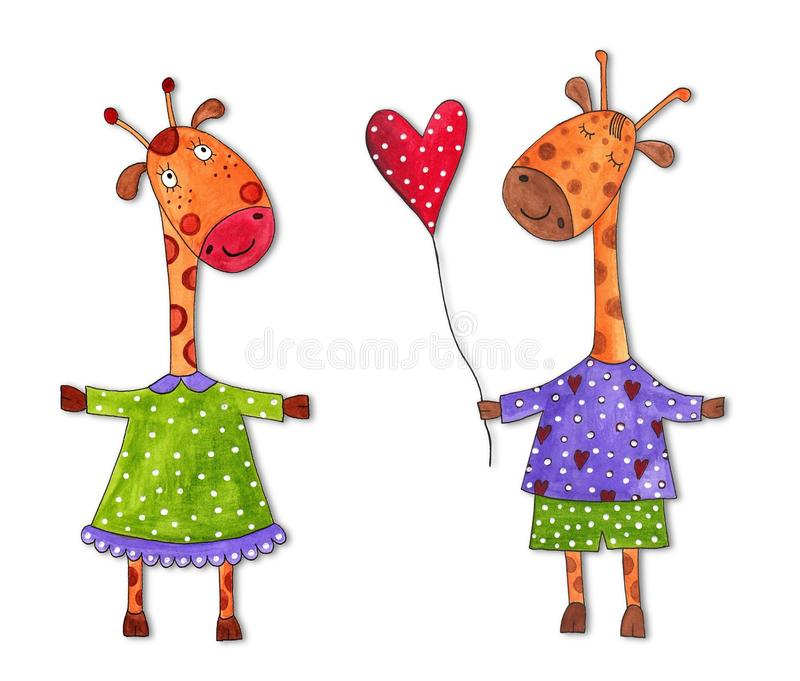 Download Cartoon characters stock illustration. Illustration of cover - 23234726