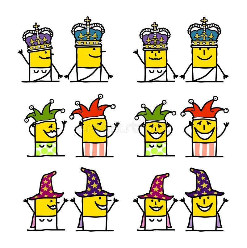 Download Cartoon Characters - Fantasy Stock Vector - Image: 16810769