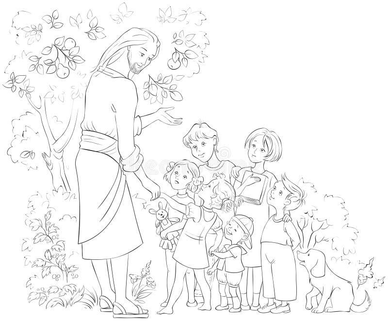 Jesus Children Stock Illustrations – 2,090 Jesus Children Stock  Illustrations, Vectors & Clipart - Dreamstime