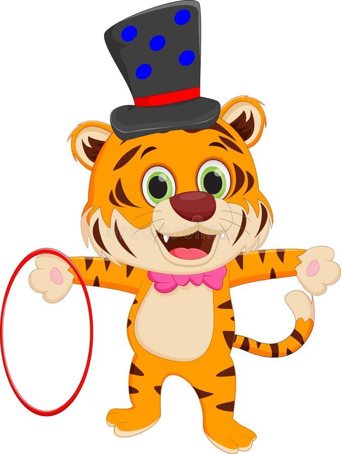 cartoon circus tiger stock vector illustration of tiger Cute Tiger Clip Art cartoon tiger face clipart