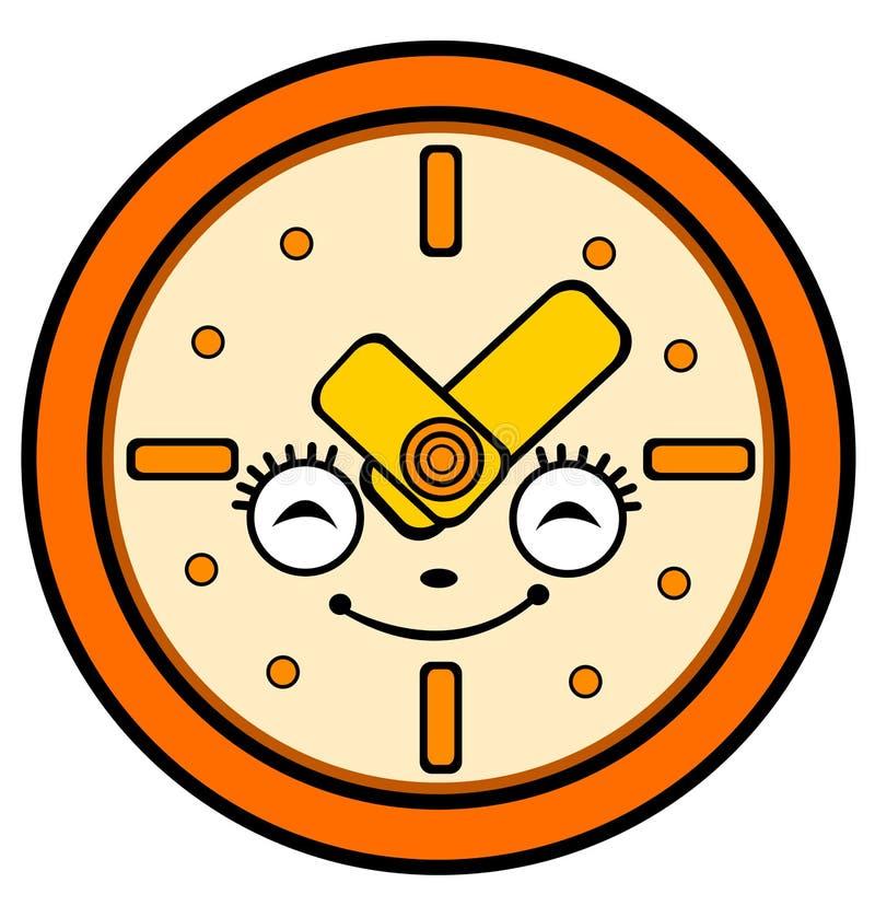 how to draw a cartoon clock