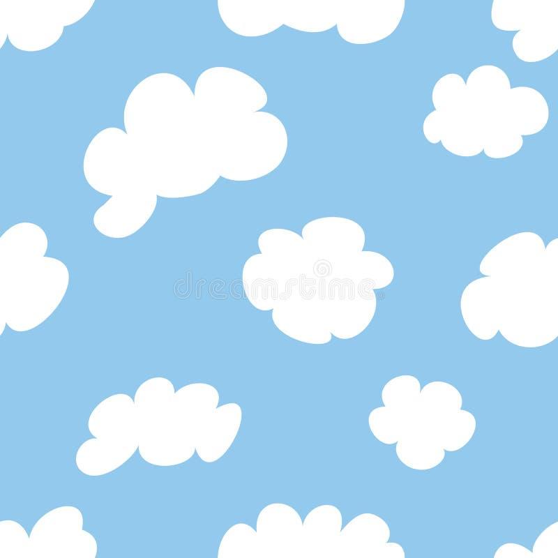 Cartoon Clouds royalty free illustration