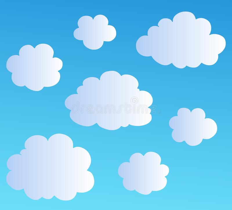 Download Cartoon Clouds Collection 3 Stock Vector - Image: 16890719
