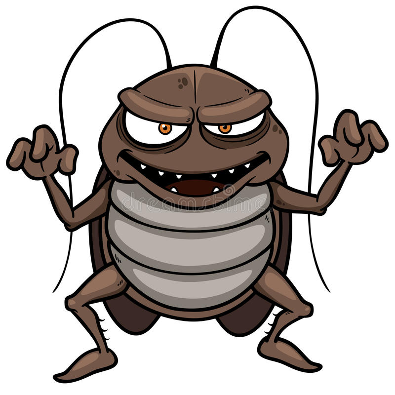Free Cartoon Cockroach Stock Photos - 34914373