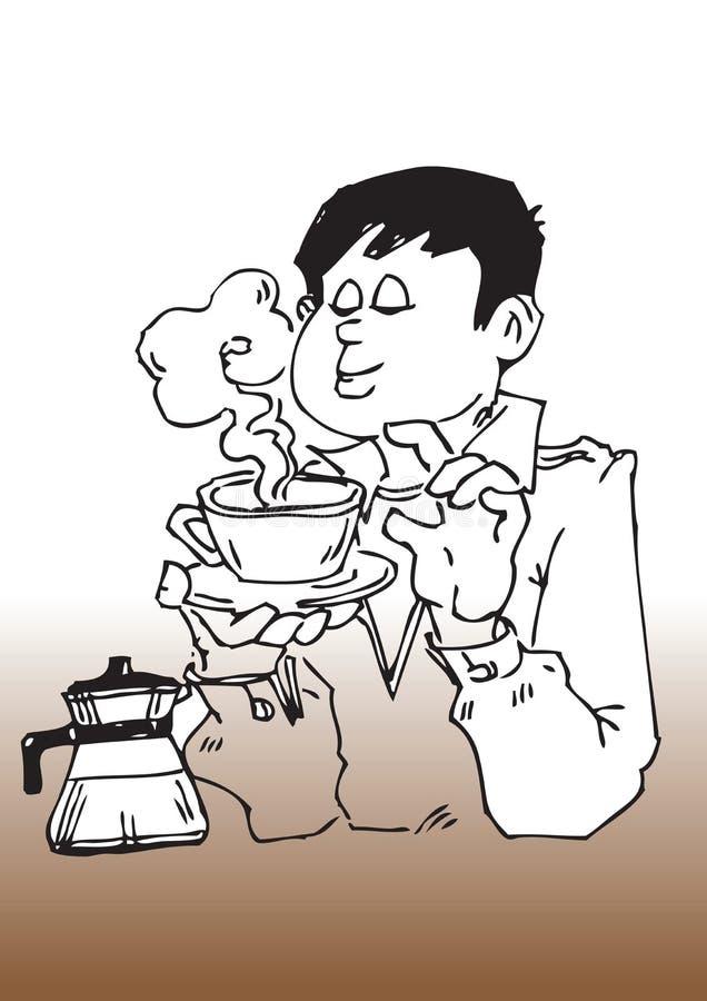 Download Cartoon Coffee Break Stock Photography - Image: 8547462
