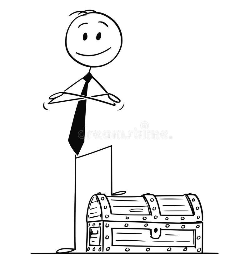 Field Service Technician Cartoon