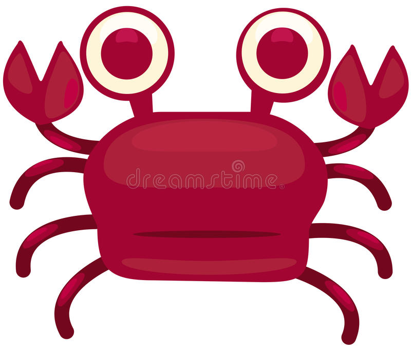 Cartoon Crab Royalty Free Stock Images
