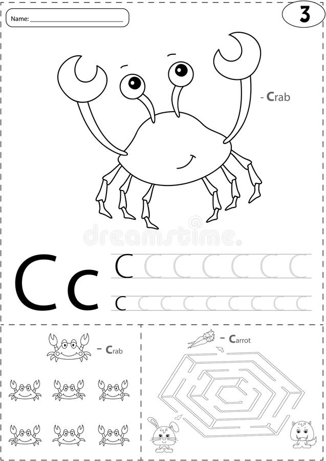 Great And Puzzle Worksheet Kids English Worksheets Alphabet A Z ...