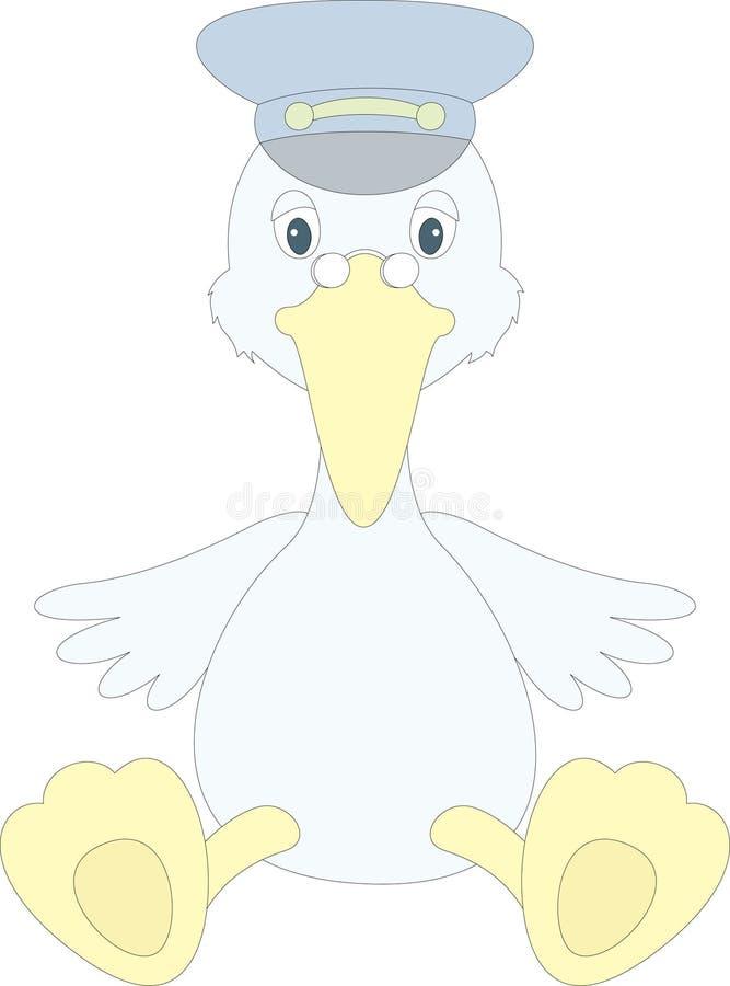 Download Cartoon crane stock vector. Illustration of childhood - 25845912