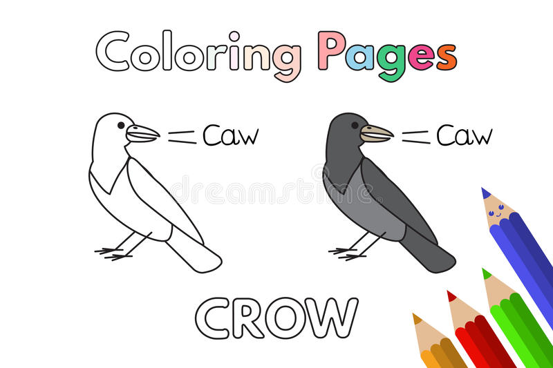 Book Cartoon Coloring Crow Stock Illustrations 153 Book Cartoon Coloring Crow Stock Illustrations Vectors Clipart Dreamstime