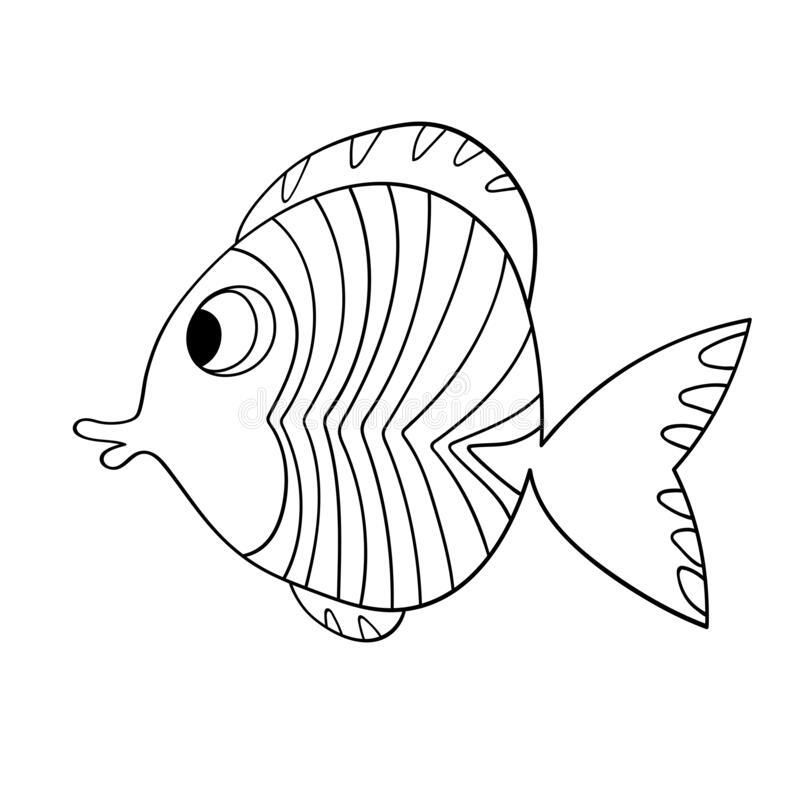 Colouring Fish Stock Illustrations – 1,182 Colouring Fish Stock  Illustrations, Vectors & Clipart - Dreamstime
