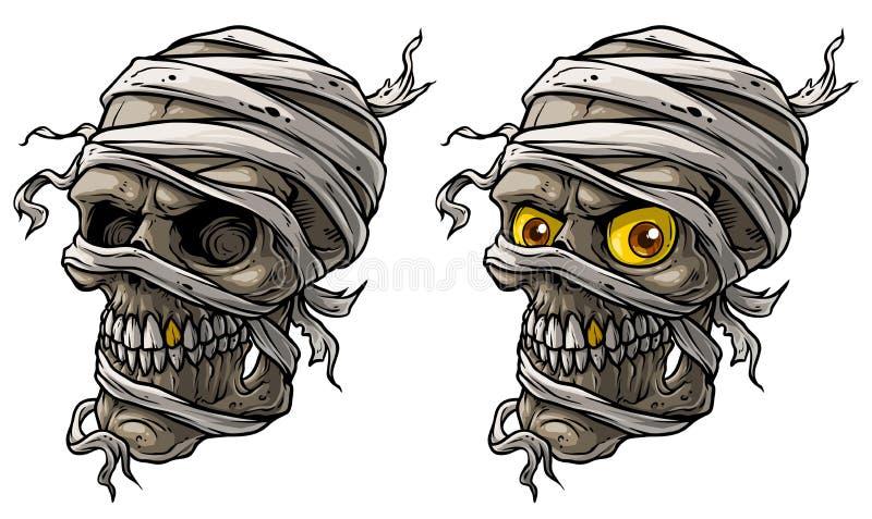 Cartoon mummy stock illustrations 4 801 cartoon mummy - Scary yellow eyes ...