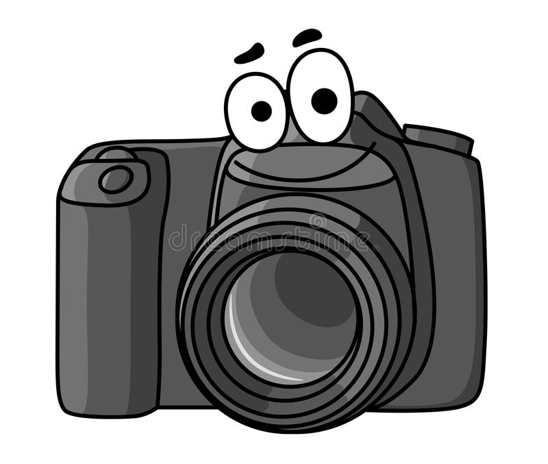 Cartoon digital camera stock vector. Illustration of ...