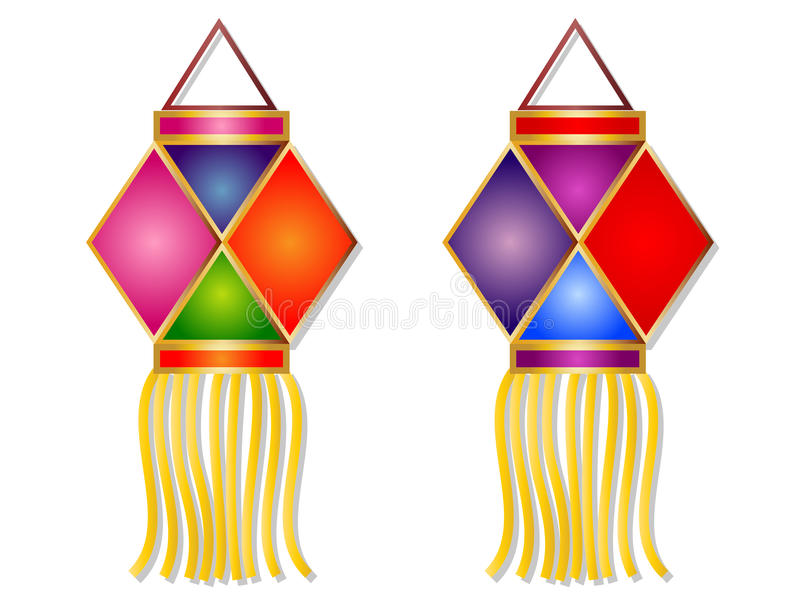 Download Cartoon Diwali Lantern Clipart Stock Photo   Illustration Of  Decoration, Lamp: 77467048