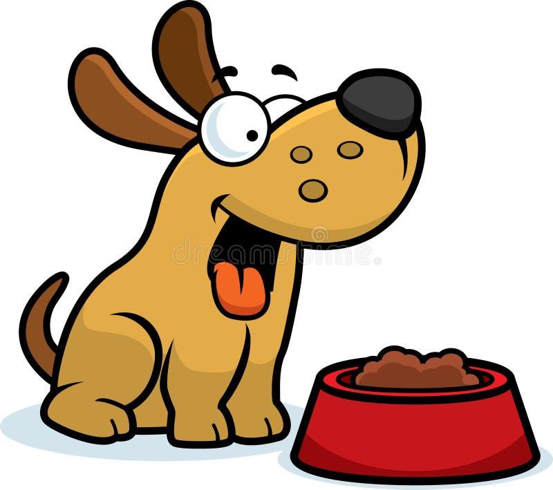 cartoon dog food stock vector illustration of bowl happy