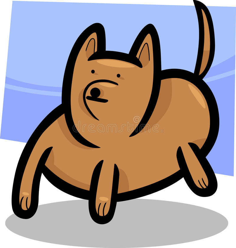 Download Cartoon Doodle Of Funny Dog Royalty Free Stock Photo - Image: 25446325