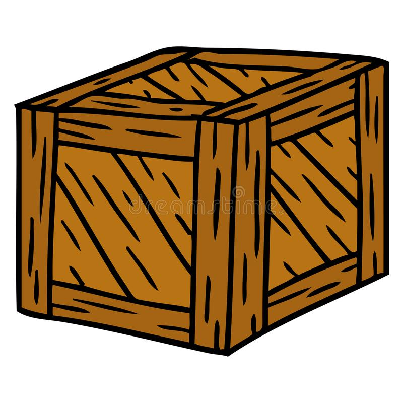 Wooden Crate Stock Illustrations 5712 Wooden Crate Stock
