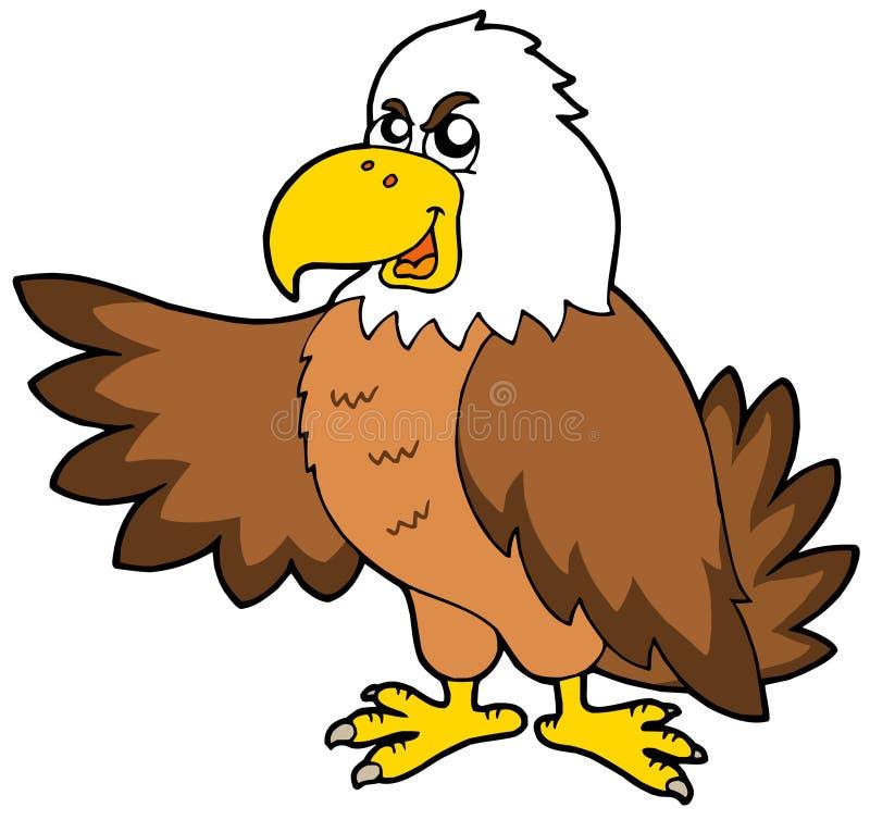 Cartoon eagle