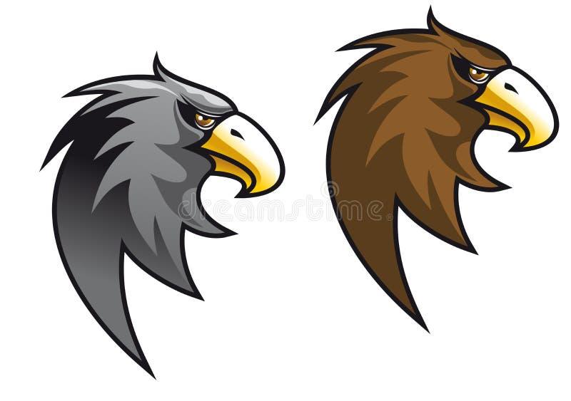 Cartoon eagle symbol stock images