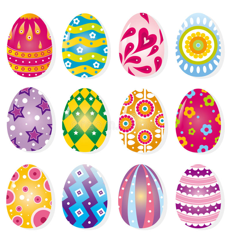 Free Cartoon Easter Egg Royalty Free Stock Photos - 17422948