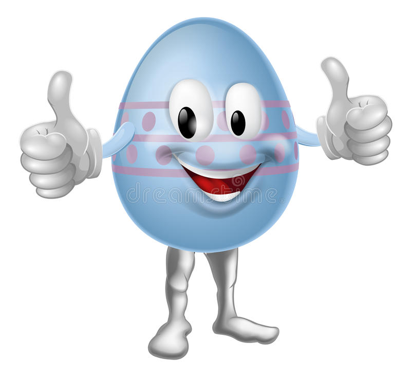 Download Cartoon Easter Egg Character Stock Photo - Image: 28708950