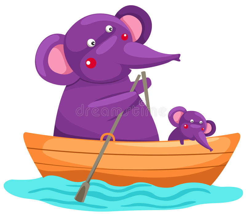 Cartoon Sea Boat Stock Illustration Illustration Of Ship