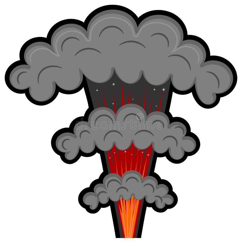 Download Cartoon explosion. eps10 stock vector. Image of bombing - 31400459