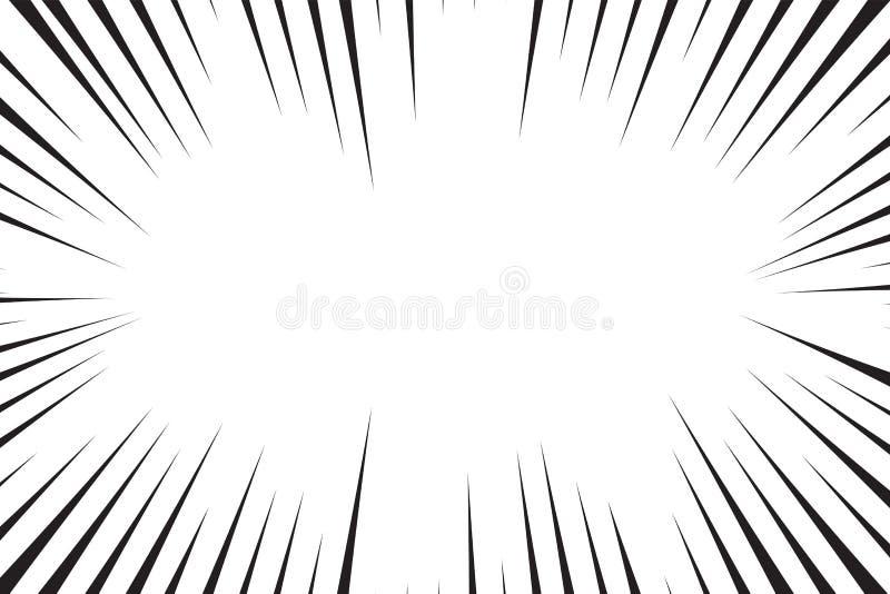 Manga explosion, illustration. Cartoon explosion - Manga explosion, illustration vector illustration