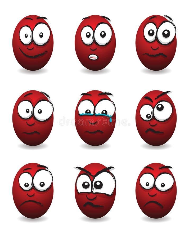 Download Cartoon face group stock vector. Image of facial, design - 38736831