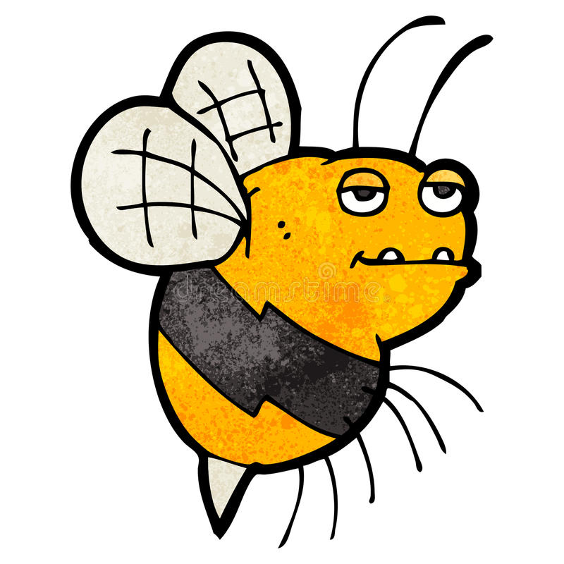 cartoon fat bumble bee stock illustration illustration of artwork rh dreamstime com Bumble Bee Clip Art free cartoon bumble bee images