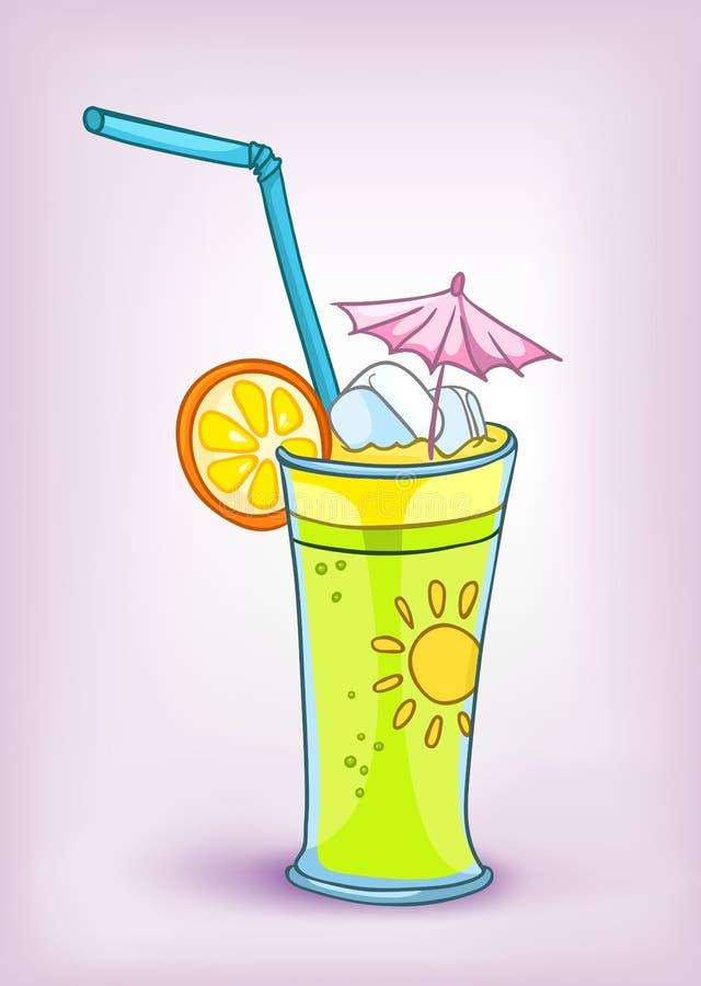 Cartoon Food Drink Cocktail royalty free illustration