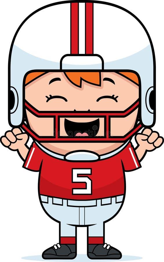 Free Cartoon Football Celebrate Royalty Free Stock Image - 47526096