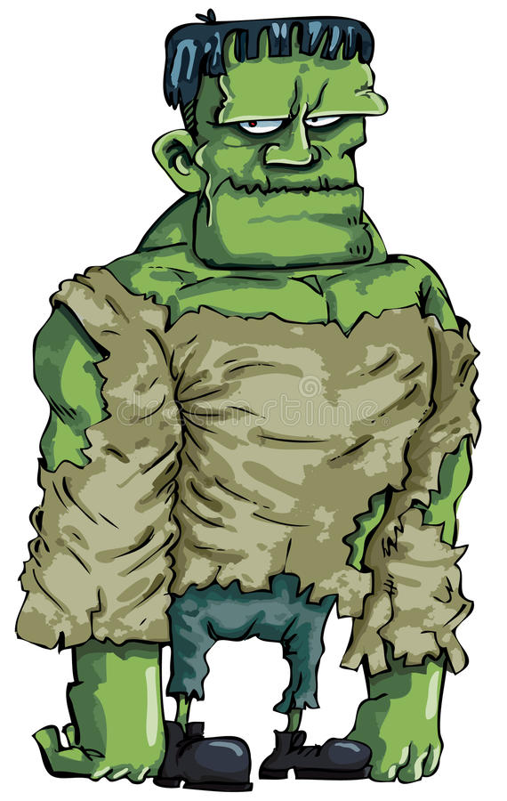 Download Cartoon Frankenstein Monster Stock Vector - Image: 19102060