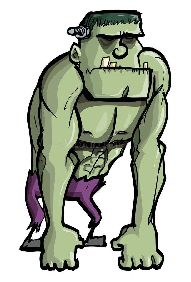 Download Cartoon Frankenstein Monster Stock Vector - Image: 21414970