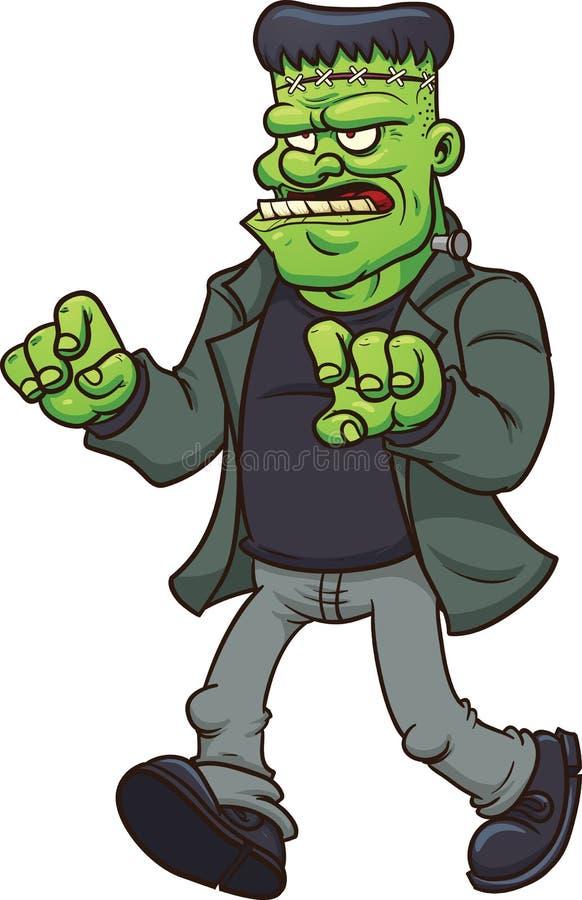 Cartoon frankenstein stock vector illustration of monster