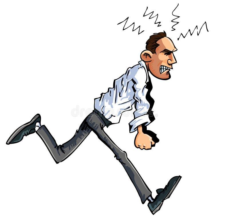 Download Cartoon Of Furious Man Stock Photos - Image: 18820513