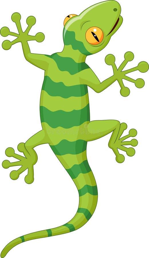 Free Cartoon Gecko Royalty Free Stock Photography - 45857037