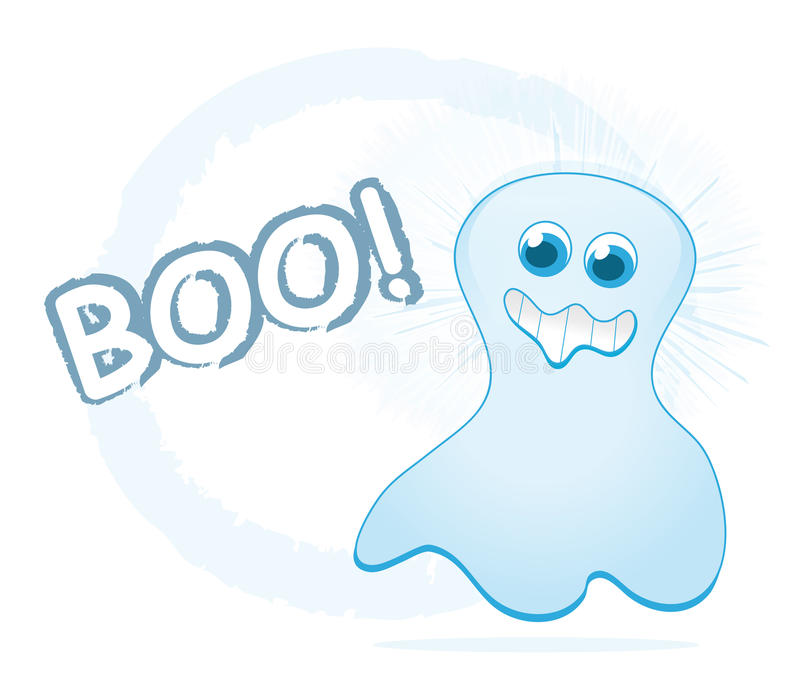 Download Cartoon ghost stock vector. Image of horrible, flying - 16040004