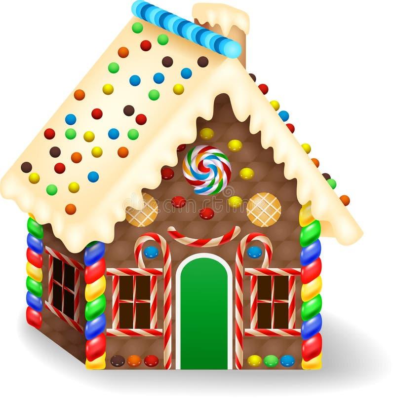 Free Cartoon Gingerbread House Royalty Free Stock Photo - 87482515