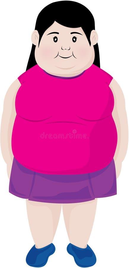 Download Cartoon girl stock illustration. Illustration of path - 1021683