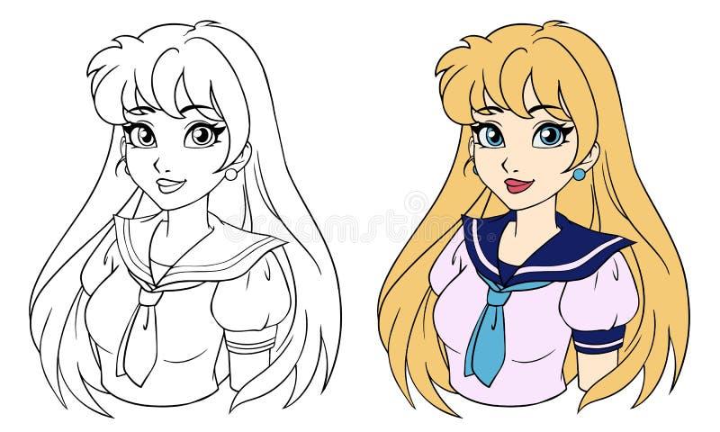 Cartoon Girl School Uniform Stock Illustrations 5 305 Cartoon Girl School Uniform Stock Illustrations Vectors Clipart Dreamstime