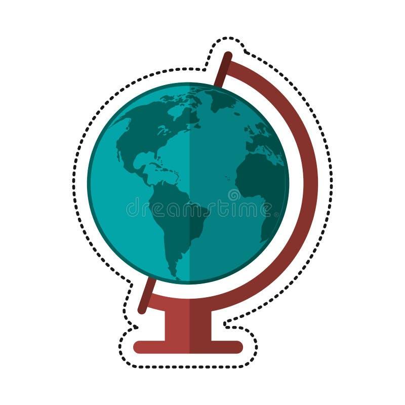 download cartoon globe world map icon stock illustration illustration of icon environment 87630746