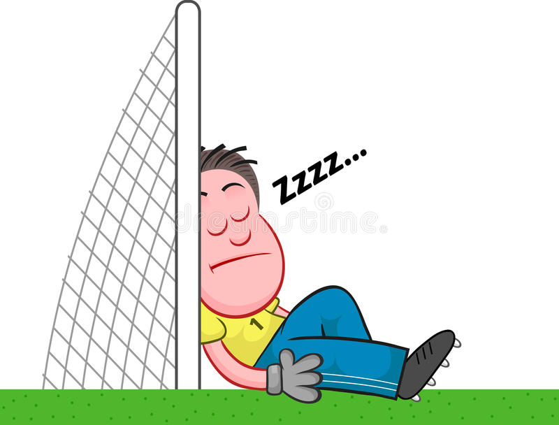 Image result for soccer sleeping