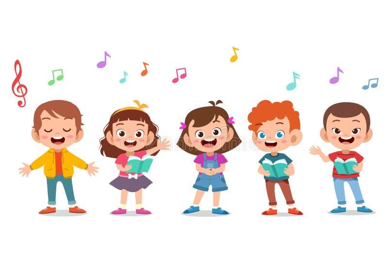 Children Choir Stock Illustrations – 973 Children Choir Stock Illustrations, Vectors & Clipart - Dreamstime
