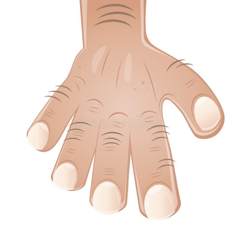 Download Cartoon hand stock vector. Image of nails, male, cartoon - 28944022