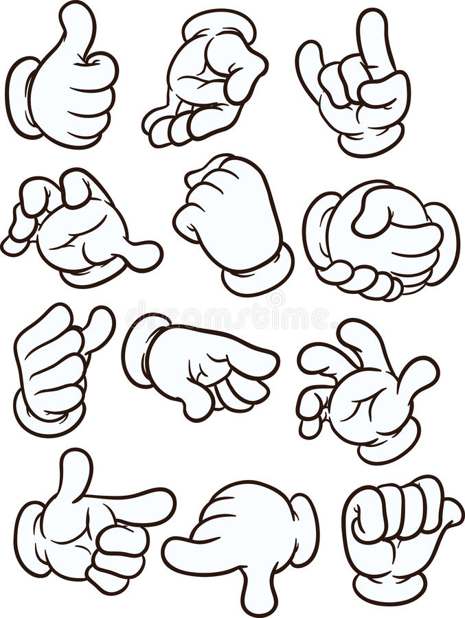 Free Cartoon Hands Royalty Free Stock Images - 97748499