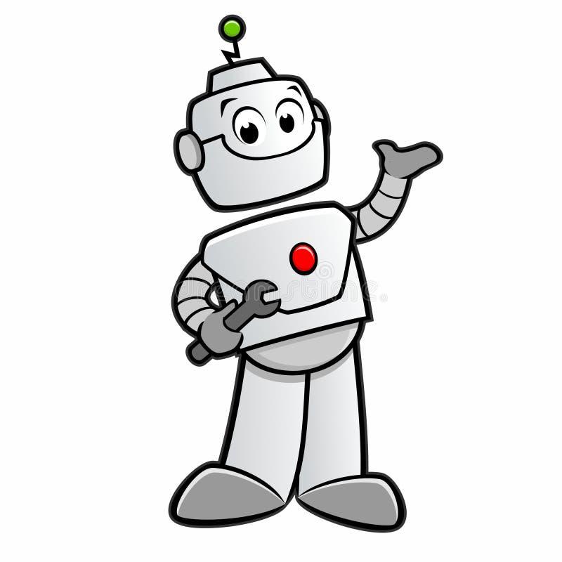 cartoon happy robot stock vector illustration of illustration rh dreamstime com robo vector robot vector art