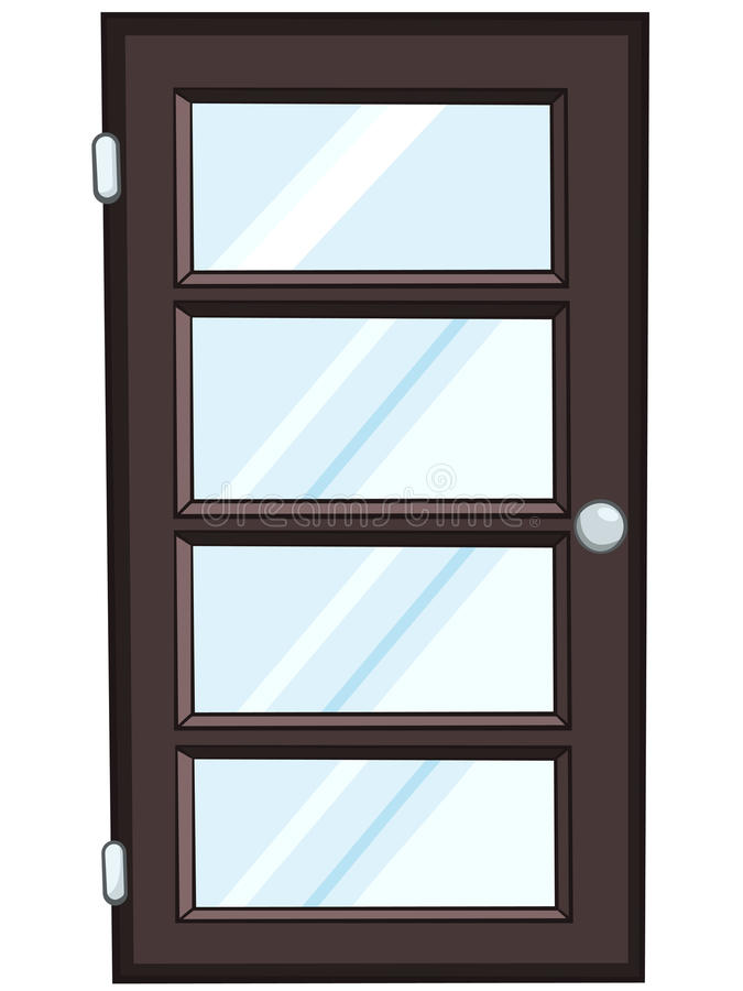 Cartoon Home Door vector illustration