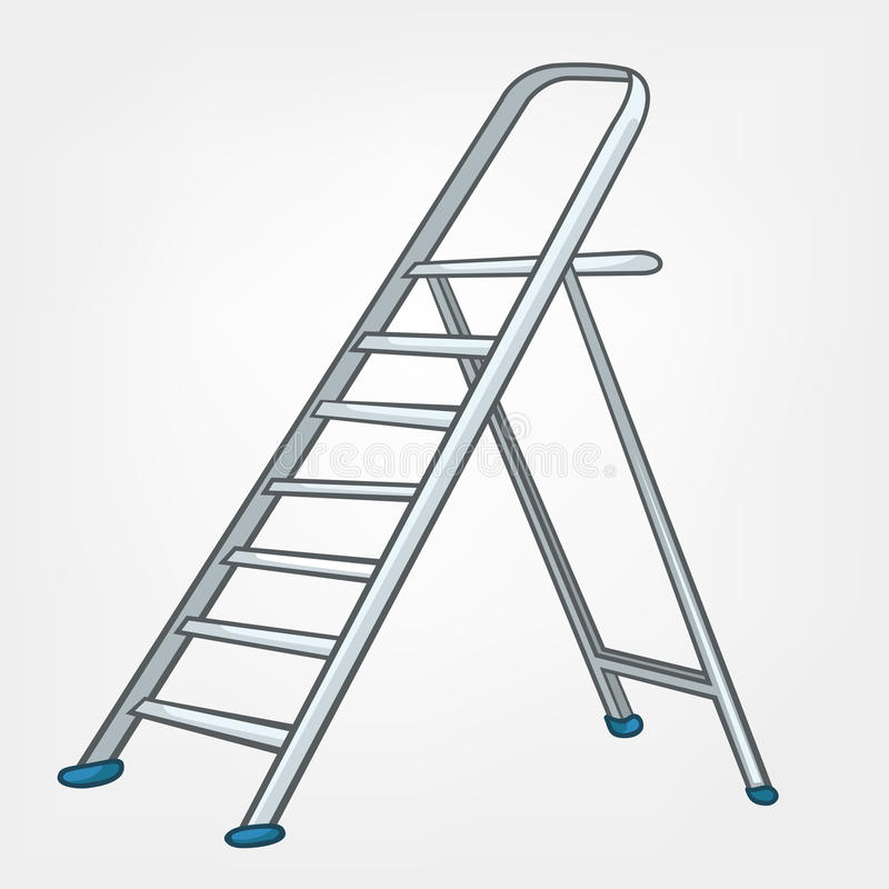 Cartoon Home Miscellaneous Ladder Stock Vector Image